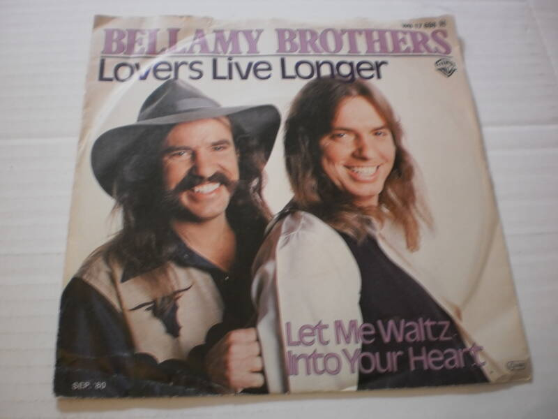 Single Bellamy Brothers - Lovers live longer
