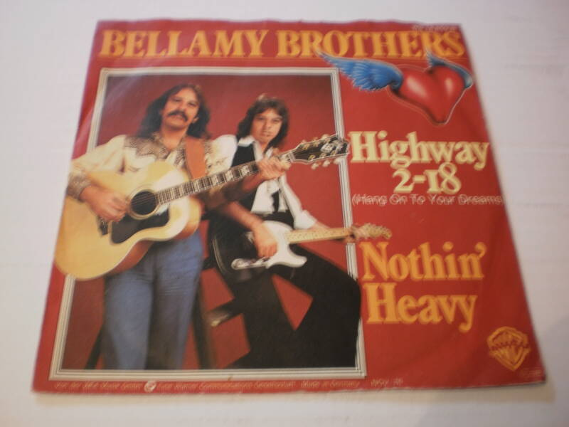 Single Bellamy Brothers - Highway 2-18