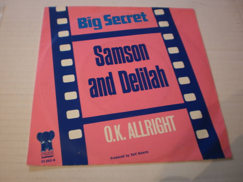 Single Big Secret - Samson and Delilah