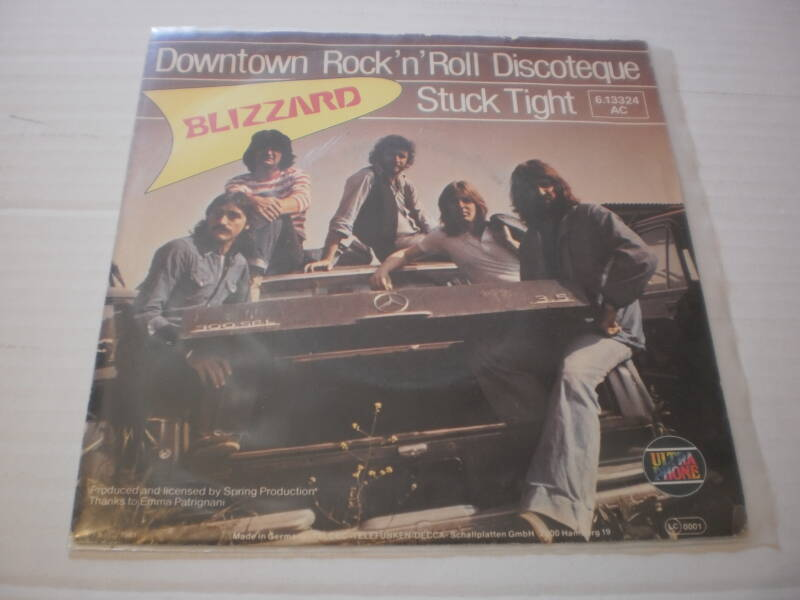 Single Blizzard - Downtown Rock n roll discoteque