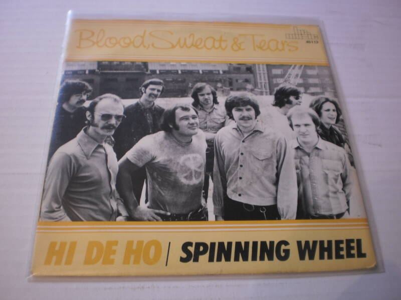 Single Blood Sweat & Tears - Hi de ho / Spinning wheel
