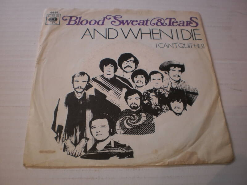 Single Blood Sweat & Tears - And when I die
