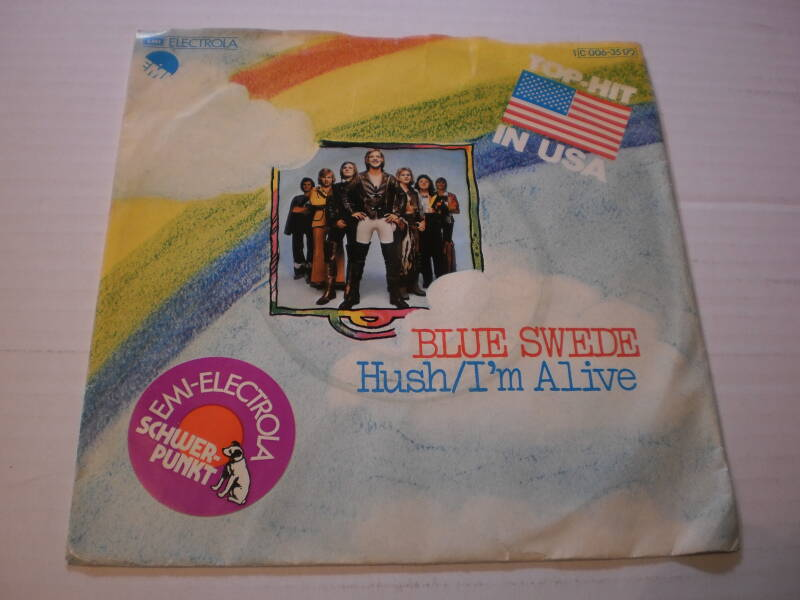 Single Blue Swede - Hush / I'm alive