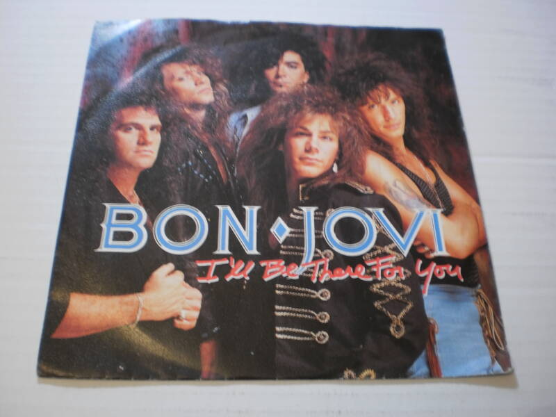 Single Bon Jovi - I'll be there for you