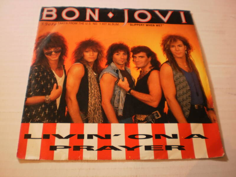 Single Bon Jovi - Livin' on a Prayer