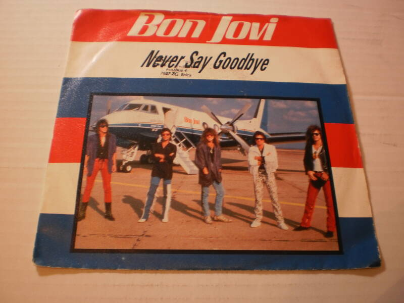 Single Bon Jovi - Never Say Goodbye