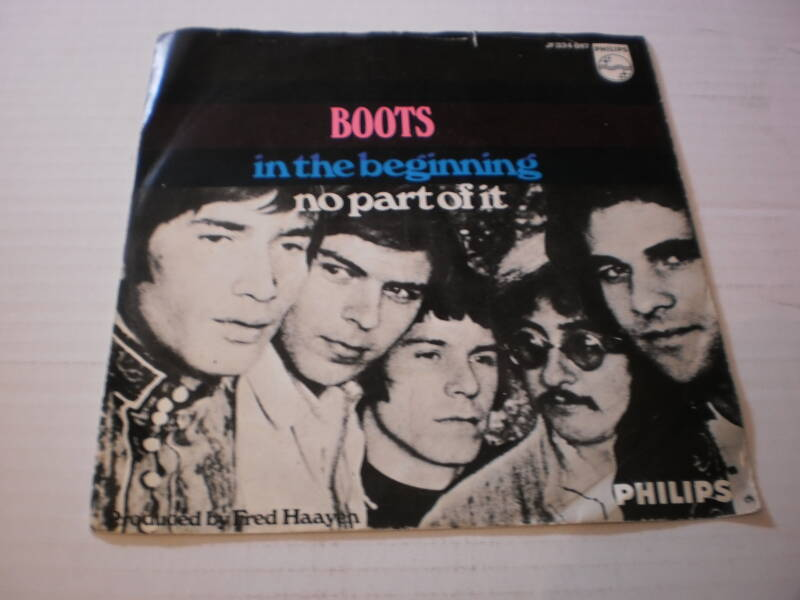 Single Boots - In the Beginning / no part of it