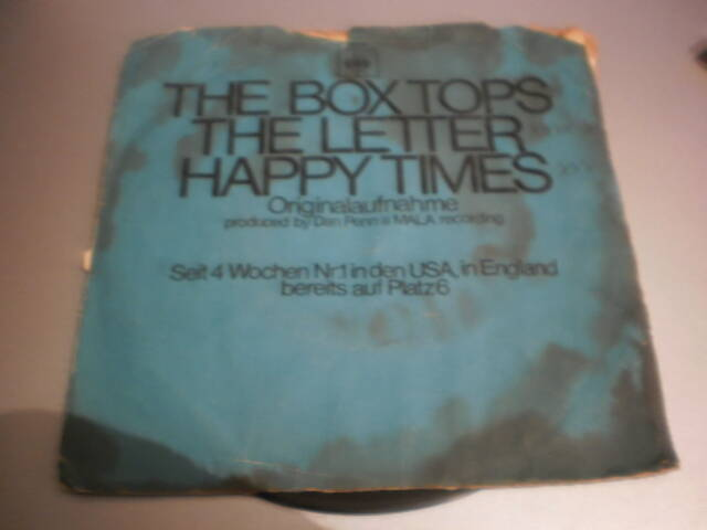 single The Box Tops - The Letter