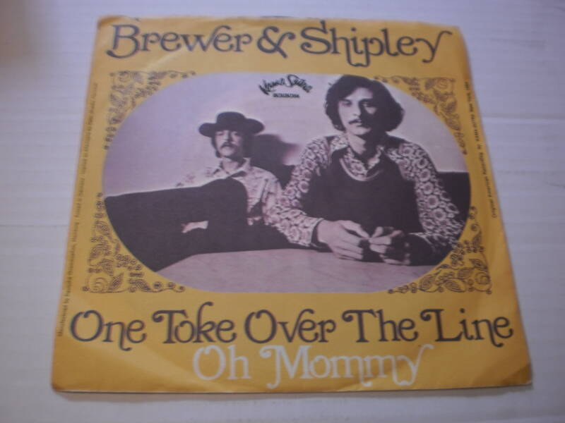 Single Brewer & Shipley - One toke over the line