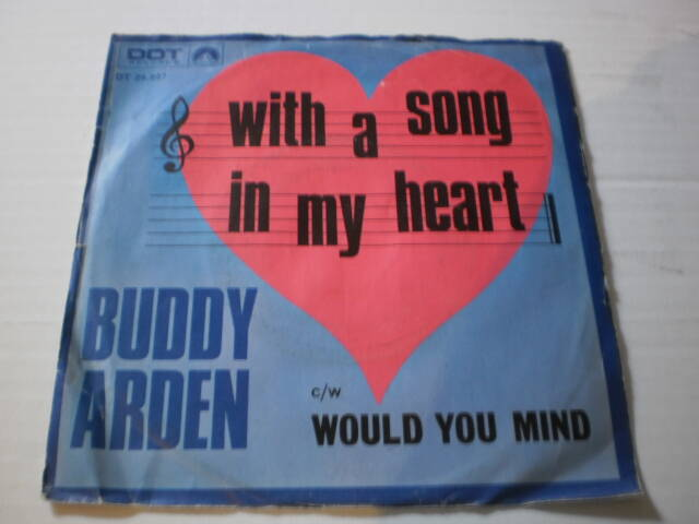 Single Buddy Arden - With a song in my heart