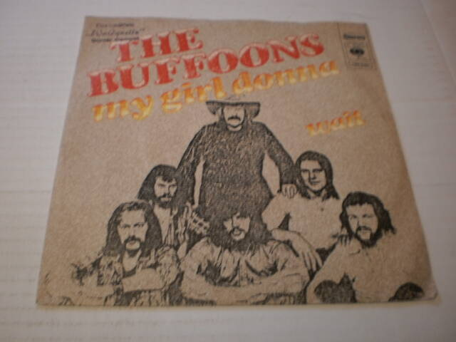 Single The Buffoons - My girl Donna