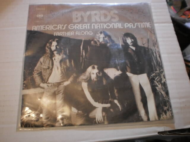 Single The Byrds - America's great National Pastime