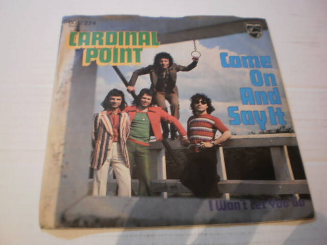 Single Cardinal Point - Come on and say it