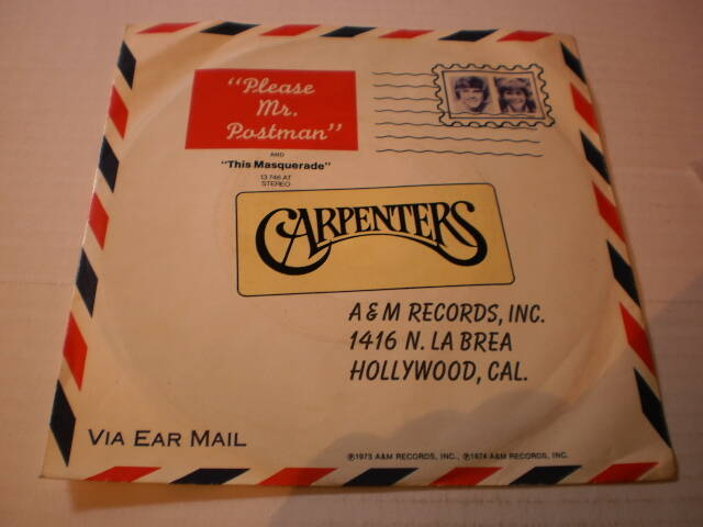 Single The Carpenters - Please Mr. Postman