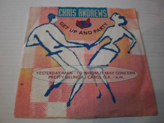 Single Chris Andrews - Get up and party