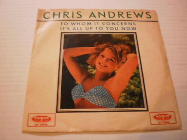 Single Chris Andrews - To whom it concerns