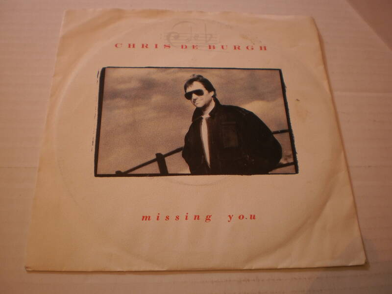 Single Chris de Burgh - Missing you