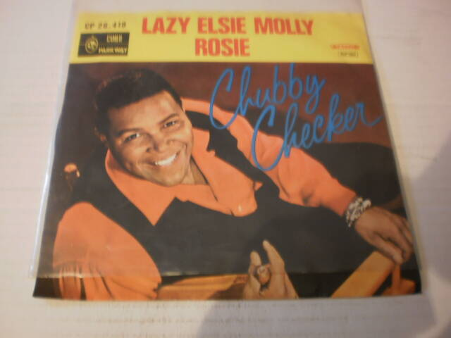 Single Chubby Checker - Lazy Elsie Molly