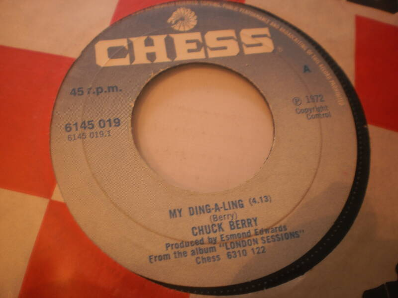 Single Chuck Berry - My ding a ling