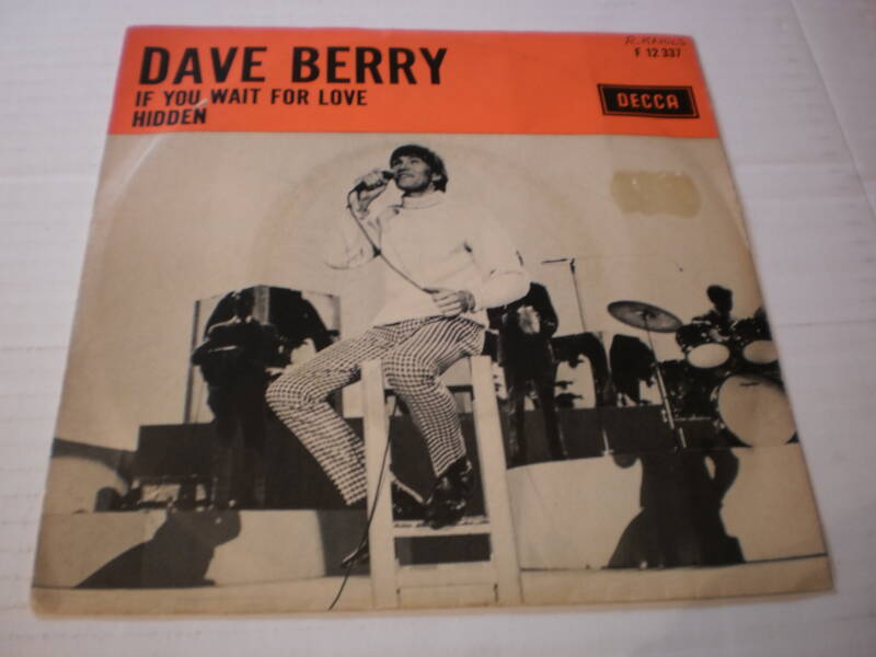 Single Dave Berry - If you wait for love