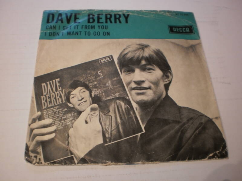 Single Dave Berry - Can I get it from you