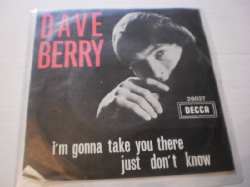 Single Dave Berry - I'm Gonna take you there