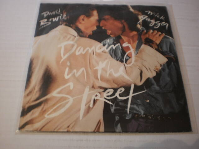 Single David Bowie & Mick Jagger - Dancing in the street