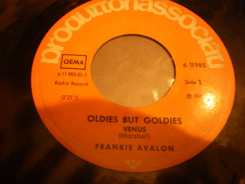 Single Frankie Avalon - Venus / Just ask your heart