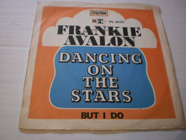 Single Frankie Avalon - Dancing on the stars