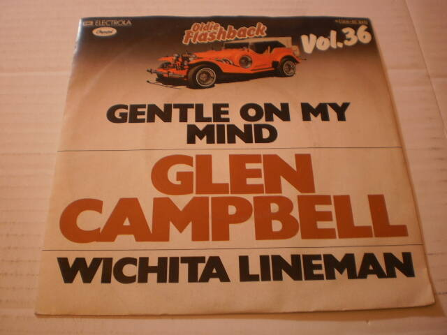 Single Glen Campbell - Gentle on my mind