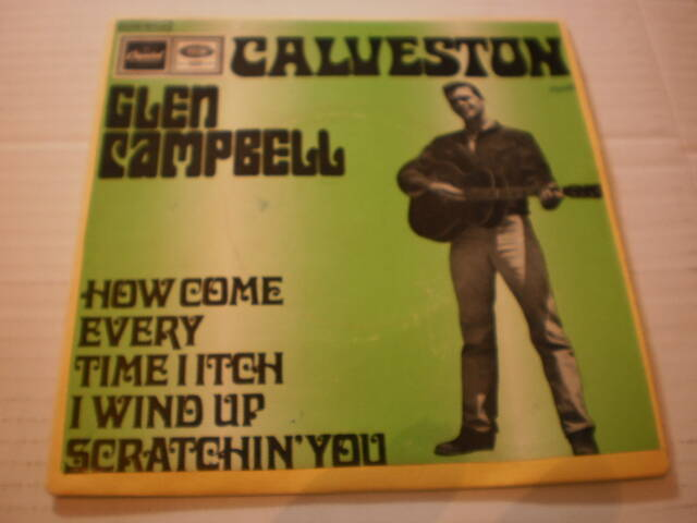 Single Glen Campbell - Galveston