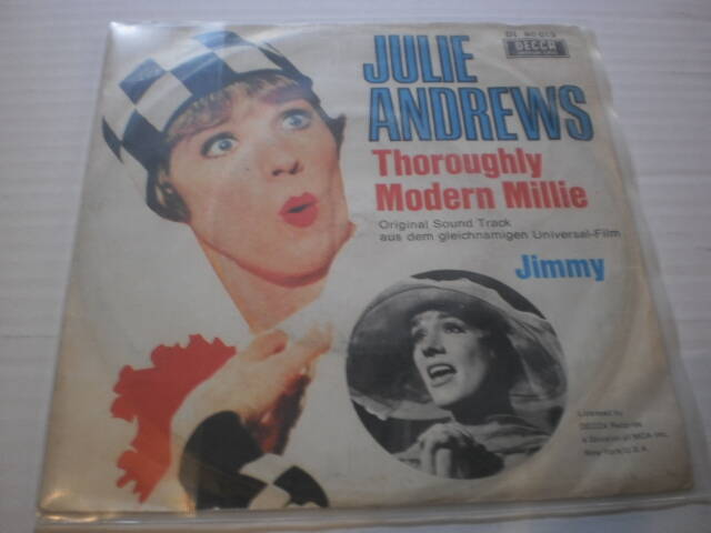 Single Julie Andrews - Thoroughly Modern Millie