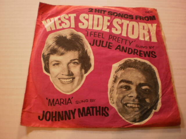 Single Julie Andrews & Johnny Mathis -  Songs from West Side Story