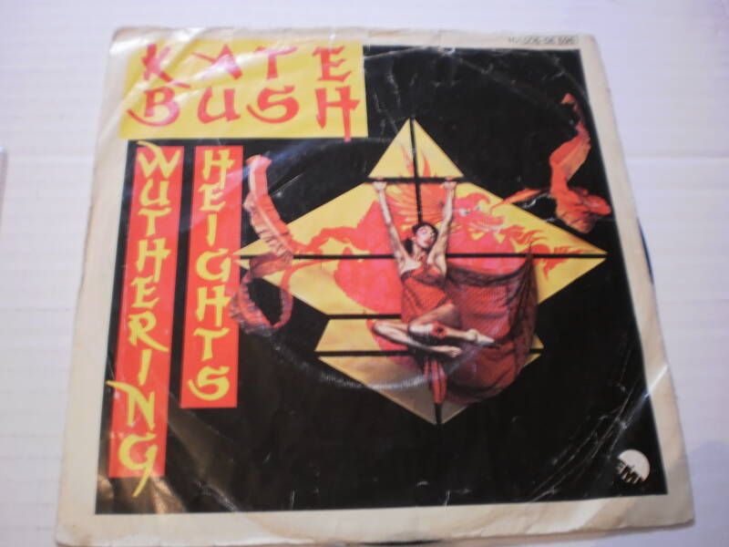 Single Kate Bush - Wuthering Heights