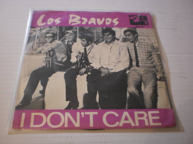 Single Los Bravos - I don't care
