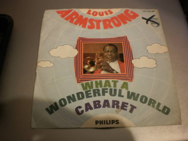 Single Louis Armstrong - What a wonderful world