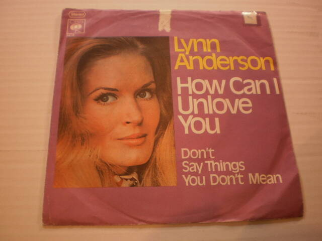 Single Lynn Anderson - How can I unlove you