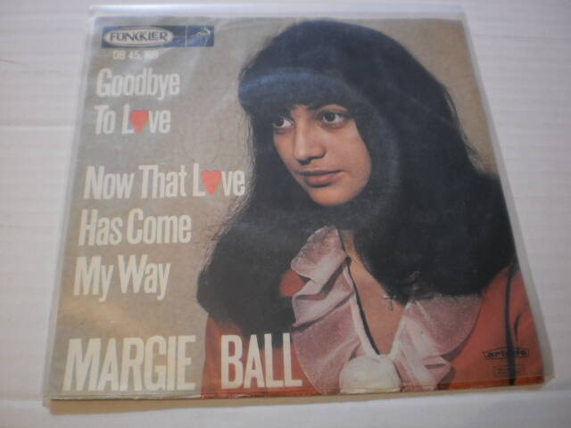 Single Margie Ball - Goodbye to love