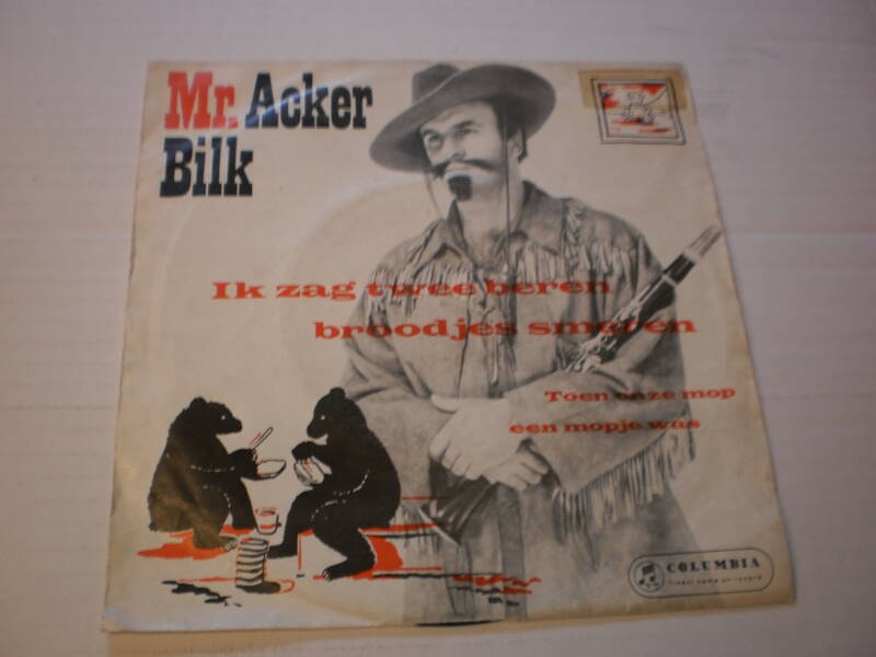 Single Mr. Acker Bilk & his paramount Jazz Band - Ik zag twee beren...