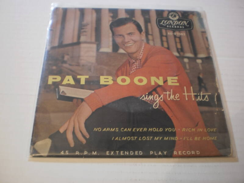 single Pat Boone - EP No arms can ever hold you