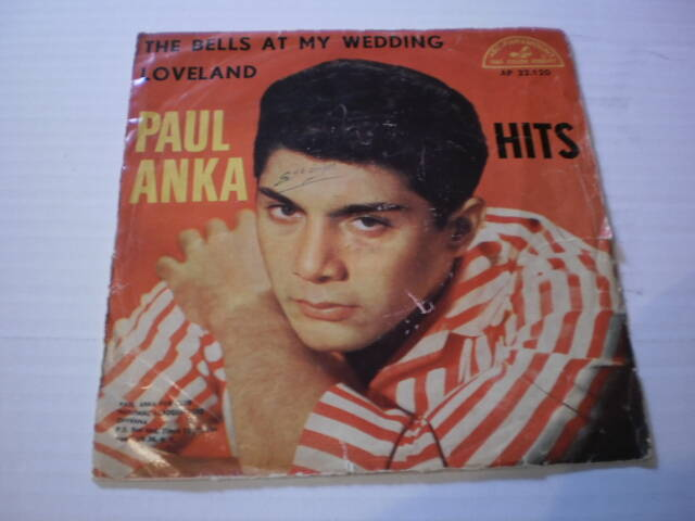 Single Paul Anka - The Bells at my wedding