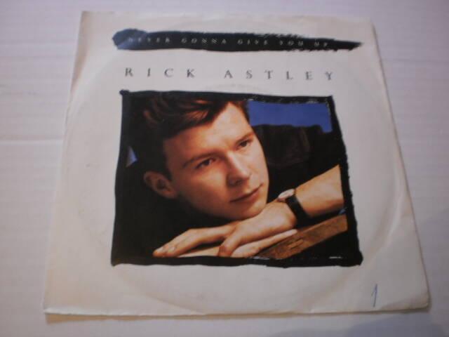 Single Rick Astley - Never gonna Give you up