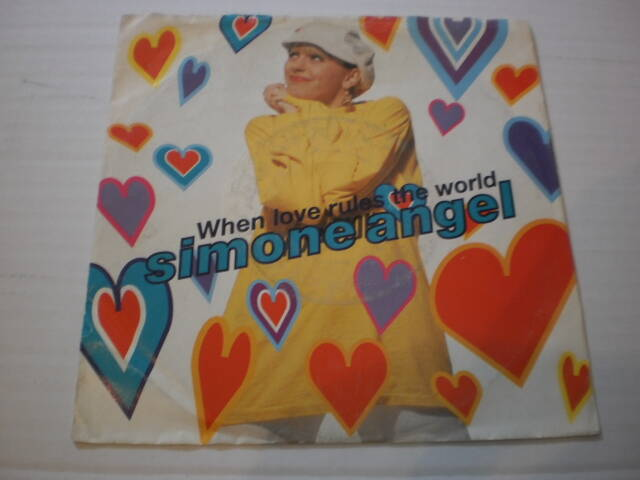 Single Simone Angel - When love rules the world