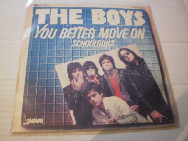 Single The Boys - You better move on / Schoolgirls