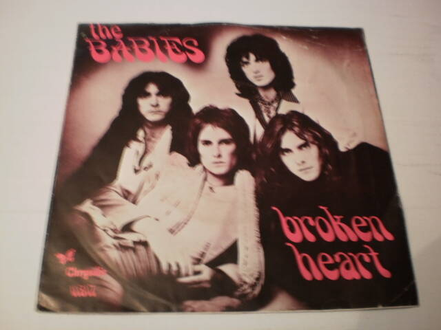 Single The Babys - Broken Heart