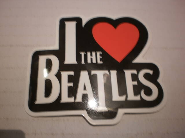 Sticker The Beatles