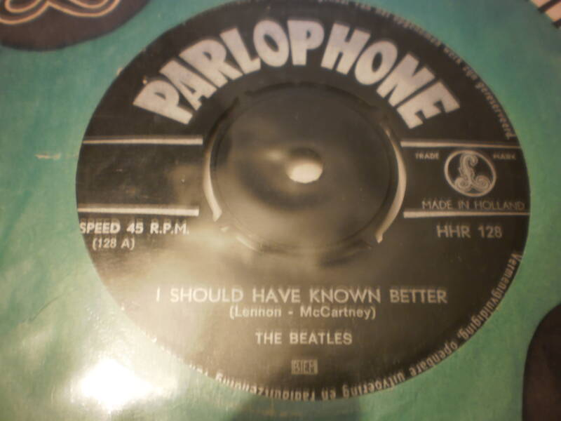 Single The Beatles - I should have known better