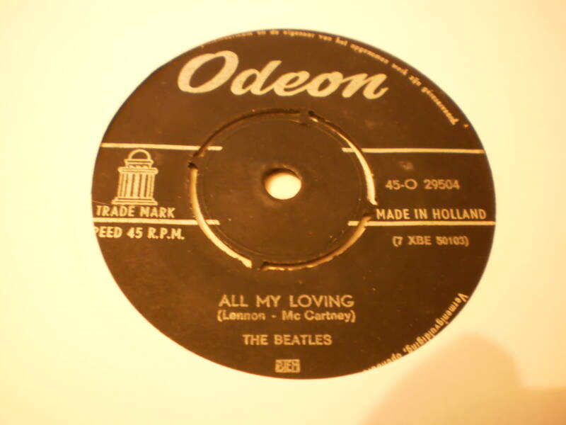 Single The Beatles - All my loving / I wanna be your man