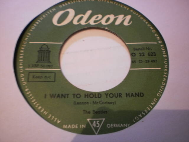 Single The Beatles - I want to hold your hand
