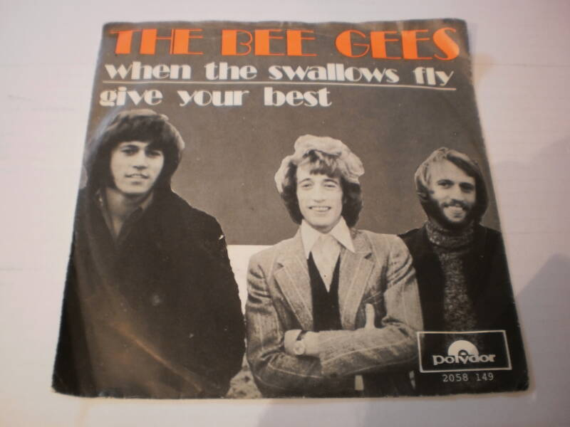 Single The Bee Gees - When the swallows fly